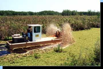 lake removal machine